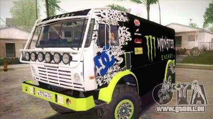 Master de KAMAZ 4911 Monster Energy pour GTA San Andreas