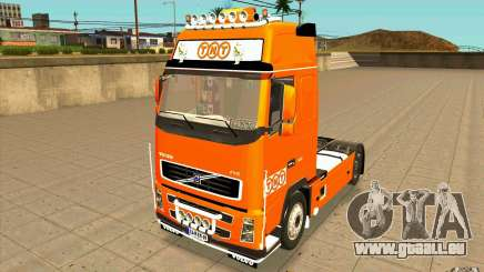 Volvo FH16 Globetrotter TNT pour GTA San Andreas