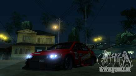 Mitsubishi Lancer Evo9 Wide Body 2 für GTA San Andreas