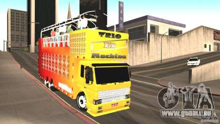 Scania 93H 6x2 Trio Eletrico für GTA San Andreas