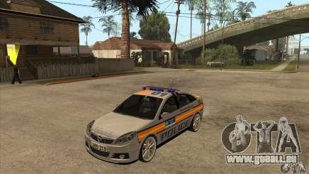 Opel Vectra 2009 Metropolitan Police für GTA San Andreas