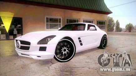 Mercedes-Benz SLS AMG 2010 Hamann Design pour GTA San Andreas