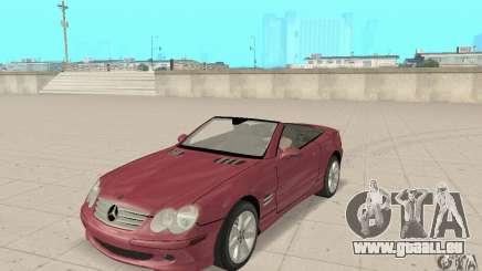 Mercedes-Benz SL500 (R230) für GTA San Andreas
