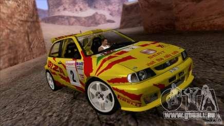 Seat Ibiza Rally für GTA San Andreas