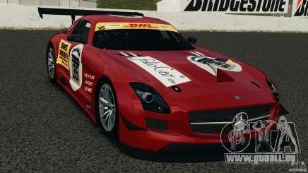 Mercedes-Benz SLS AMG GT3 2011 v1.0 pour GTA 4