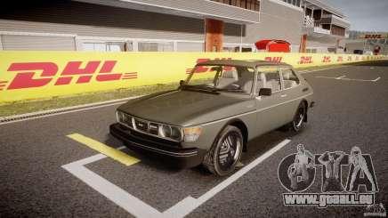 SAAB 99 Turbo 1978 pour GTA 4