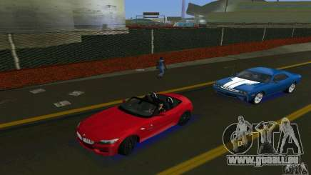 BMW Z4 V10 2011 für GTA Vice City