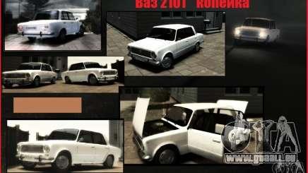 VAZ 2101 KOPEK pour GTA 4