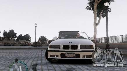 BMW M3 e36 1997 Cabriolet für GTA 4