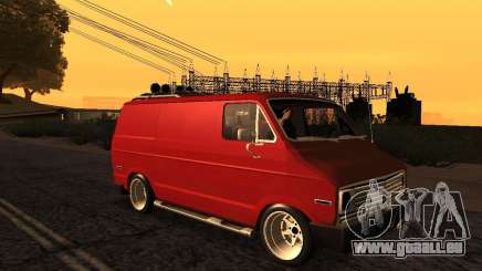 Dodge Tradesman 1976 Tuned pour GTA San Andreas