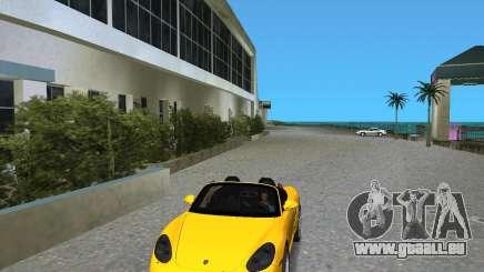 Porsche Boxster 2010 pour GTA Vice City