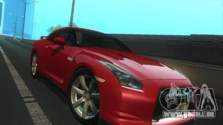 Nissan GTR R35 Spec-V 2010 Stock Wheels pour GTA San Andreas