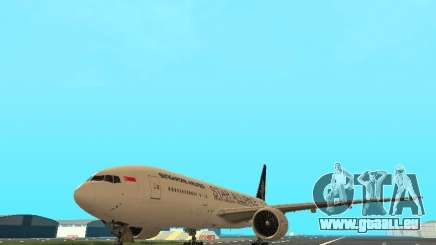 Boeing 777-200 Singapore Airlines pour GTA San Andreas