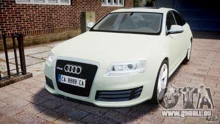 Audi RS6 2010 pour GTA 4