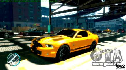 Shelby GT500 Super Snake 2011 pour GTA 4
