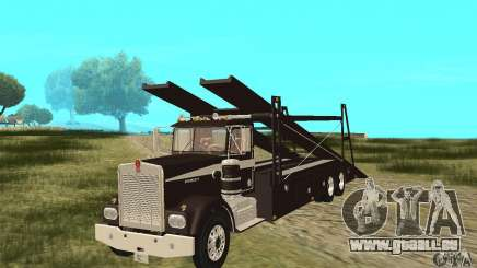 Kenworth Car Hauler für GTA San Andreas
