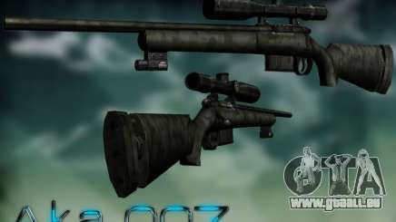 Sniper - Forest Camouflage pour GTA San Andreas