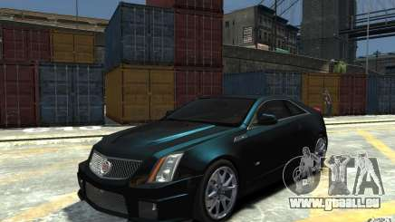 Cadillac CTS-V Coupe 2011 v.2.0 pour GTA 4