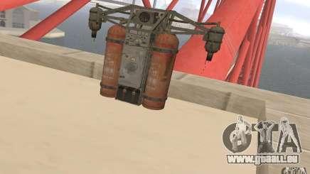 Jetpack dans le style de l'URSS pour GTA San Andreas
