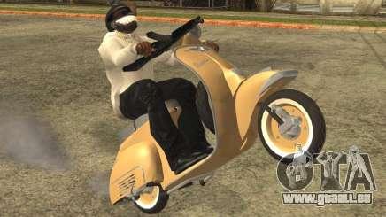 Vespa N-50 pour GTA San Andreas