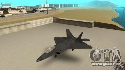 F-22 Black für GTA San Andreas