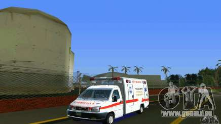 RTW Ambulance pour GTA Vice City