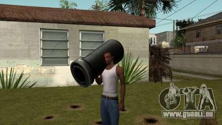 Cannon von Serious Sam für GTA San Andreas