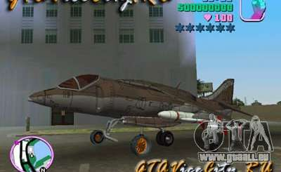 Harrier für GTA Vice City