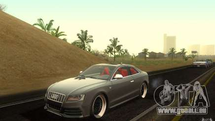 Audi S5 Black Edition pour GTA San Andreas