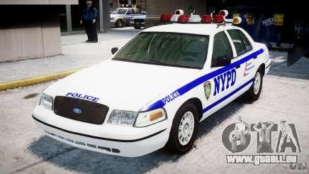 Ford Crown Victoria NYPD für GTA 4