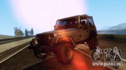 Jeep Wrangler 1994 pour GTA San Andreas