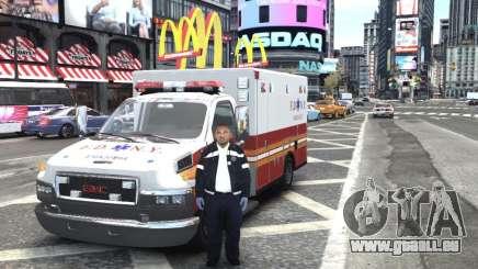 GMC C4500 Ambulance [ELS] für GTA 4