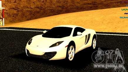McLaren MP4-12C 2011 pour GTA San Andreas