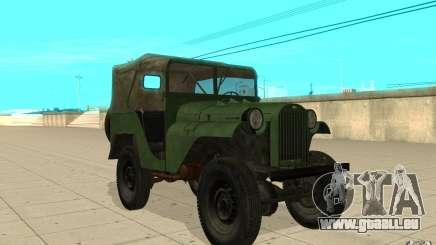 Gaz-64 peau 1 pour GTA San Andreas