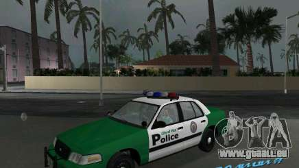 Ford Crown Victoria 2003 Police für GTA Vice City