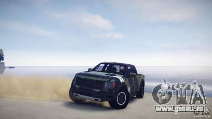 Ford F150 SVT Raptor 2011 UNSC pour GTA 4