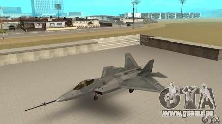 YF-22 Grey für GTA San Andreas