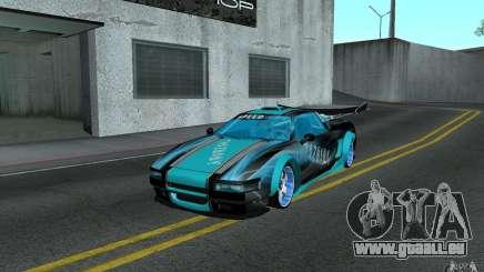 Baby blue Infernus für GTA San Andreas