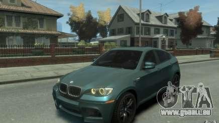 BMW X6-M 2010 pour GTA 4