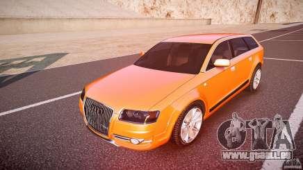 Audi A6 Allroad Quattro 2007 wheel 2 pour GTA 4