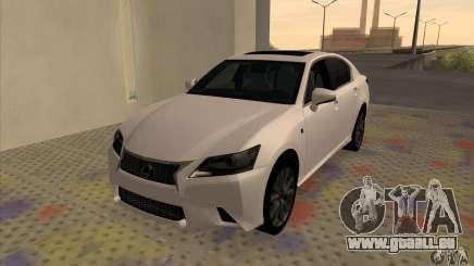 Lexus GS350 F Sport Series IV 2013 für GTA San Andreas