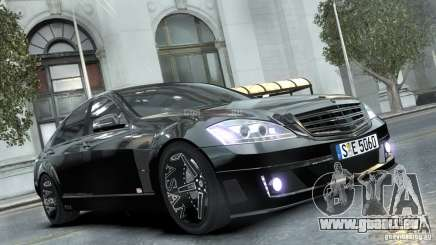 Mercedes-Benz Brabus SV12 R Biturbo 800 2011 für GTA 4