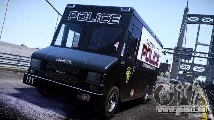 Boxville Police pour GTA 4