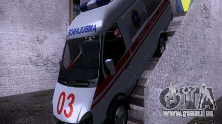 Gazelle 2705-Ambulanz für GTA San Andreas