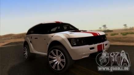 Bowler EXR S 2012 für GTA San Andreas