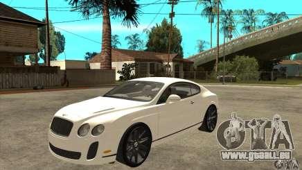 Bentley Continental Supersports für GTA San Andreas