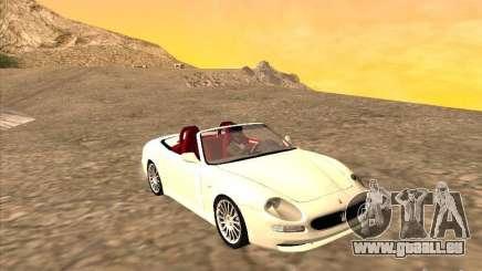 Maserati Spyder Cambiocorsa für GTA San Andreas