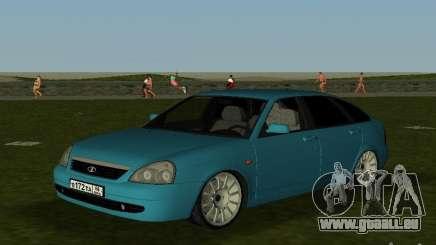 Lada Priora berline avec hayon arrière v2.0 pour GTA Vice City