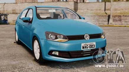 Volkswagen Voyage G6 2013 pour GTA 4