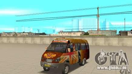 Gazelle Kulnev obezbašennaâ für GTA San Andreas
